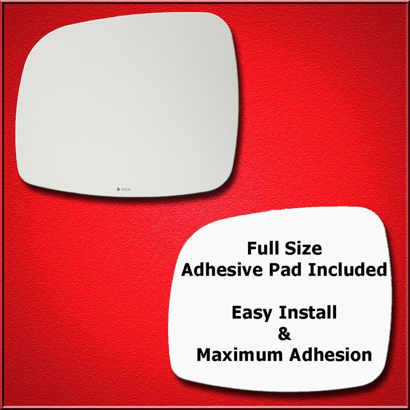 Mirror Glass Replacement + Full Adhesive for 11-15