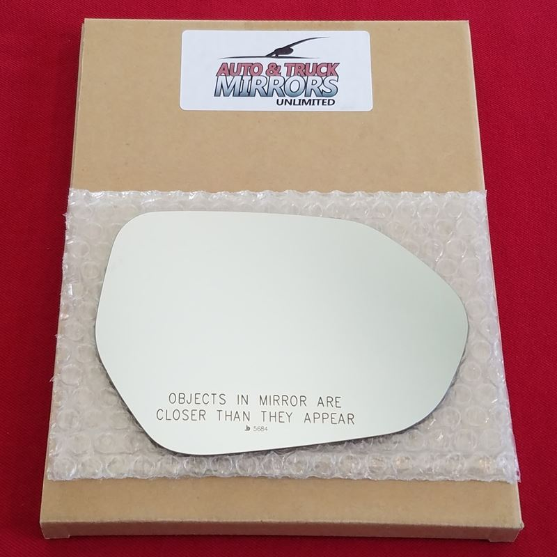Mirror Glass + ADHESIVE for 16-18 Toyota Prius Pas