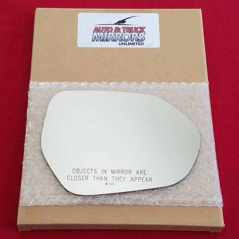 Mirror Glass + ADHESIVE for 16-18 Toyota Prius Pas