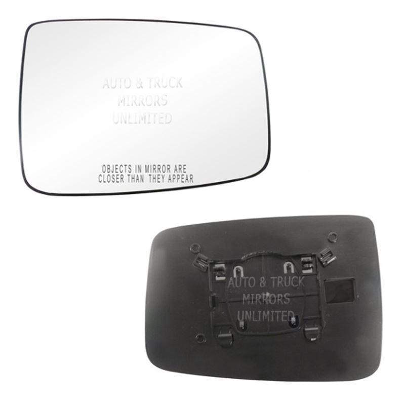 Fits 09-16 Ram 1500 Passenger Side Mirror Glass wi