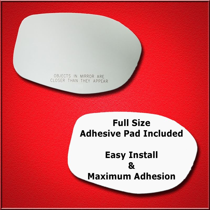 Mirror Glass Replacement + Full Adhesive for 14-17