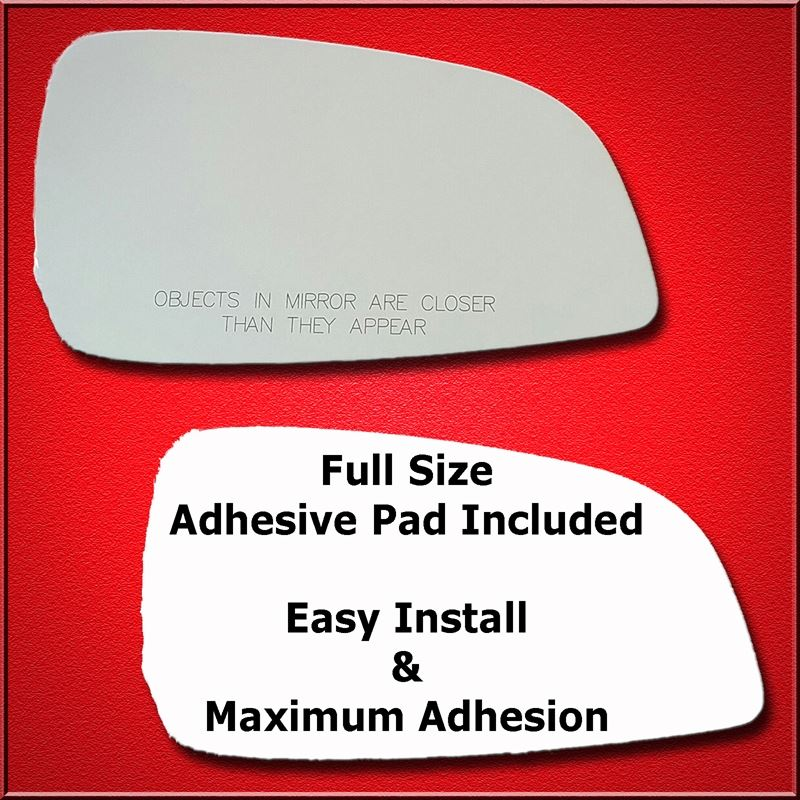 Mirror Glass Replacement + Full Adhesive for 08-12