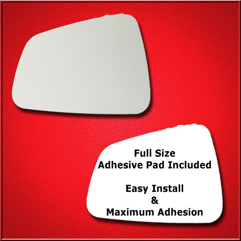 Mirror Glass Replacement + Full Adhesive for 13-16