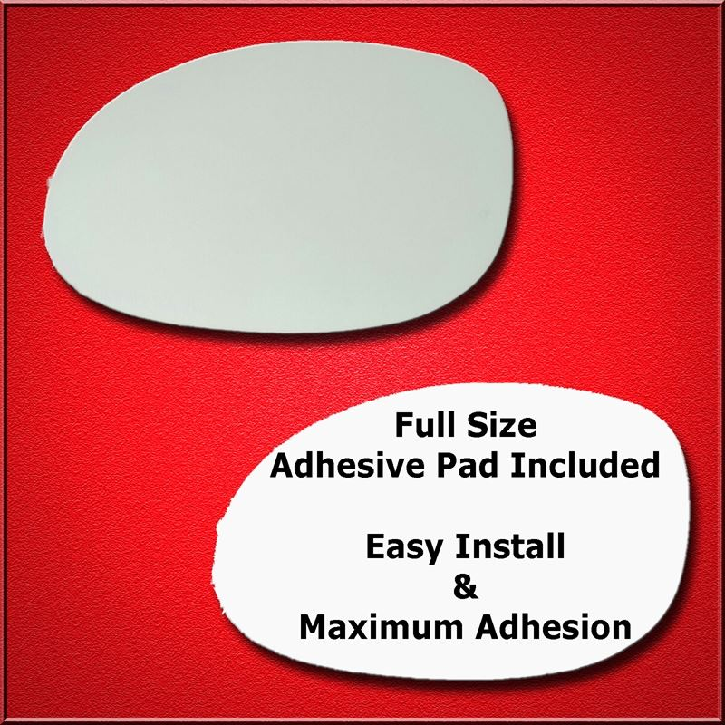 Mirror Glass Replacement + Full Adhesive for Chrys