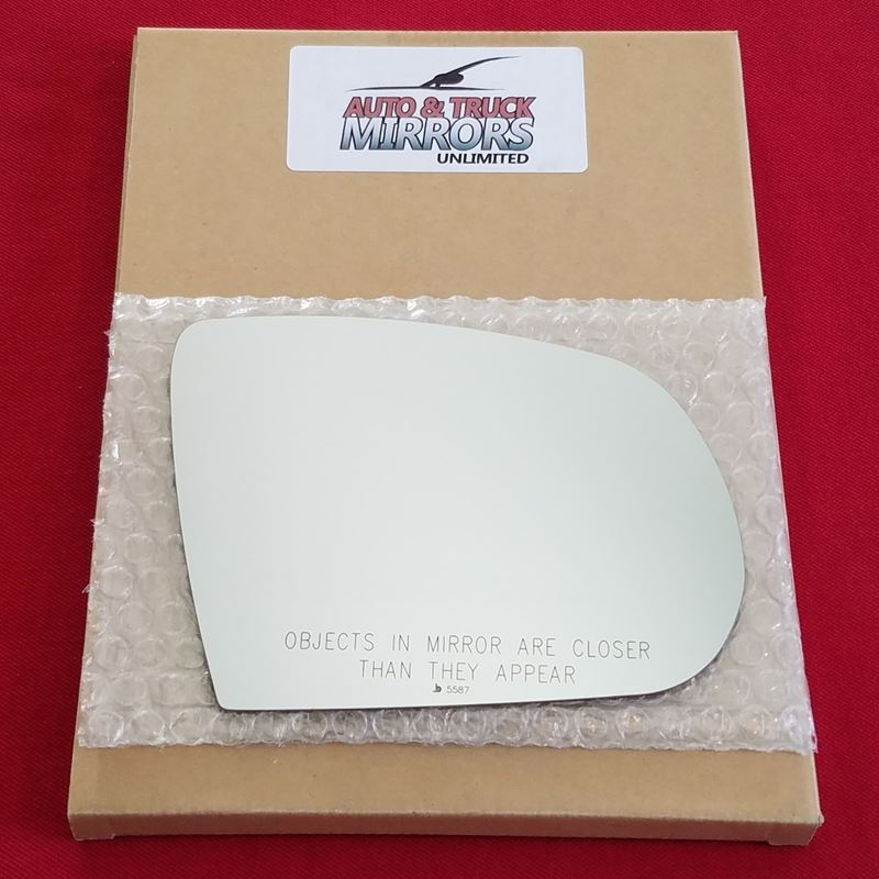 Mirror Glass + ADHESIVE for 14-18 Jeep Cherokee Pa