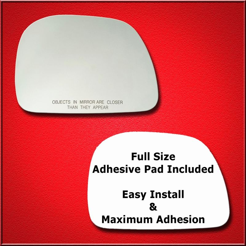 Mirror Glass Replacement + Full Adhesive for 99-07