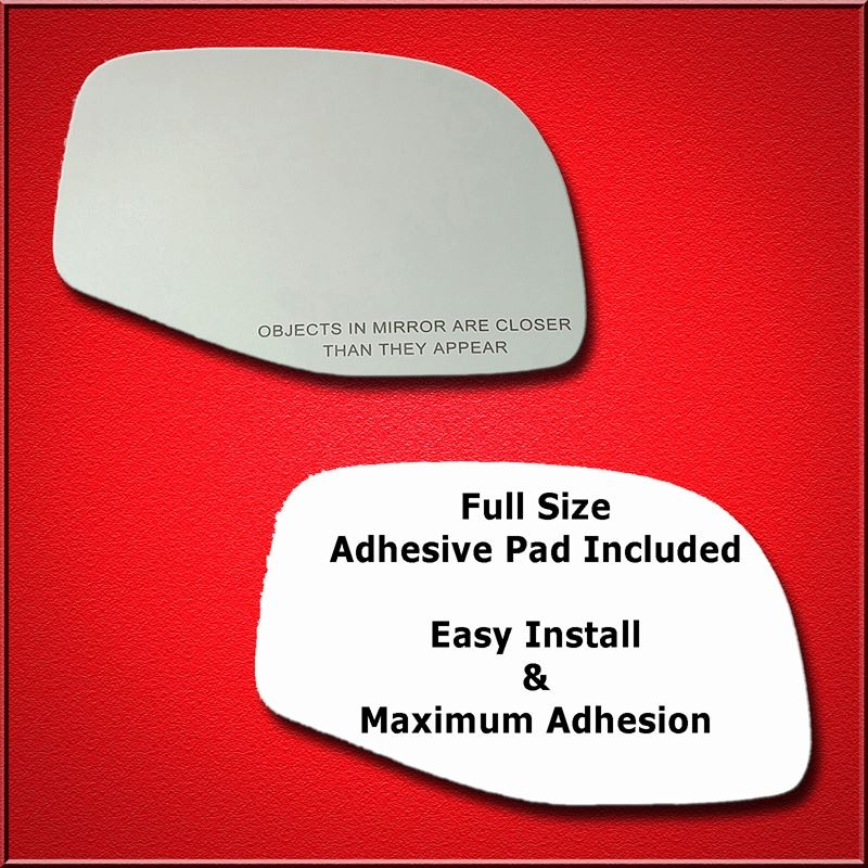 Mirror Glass Replacement + Full Adhesive for Explo