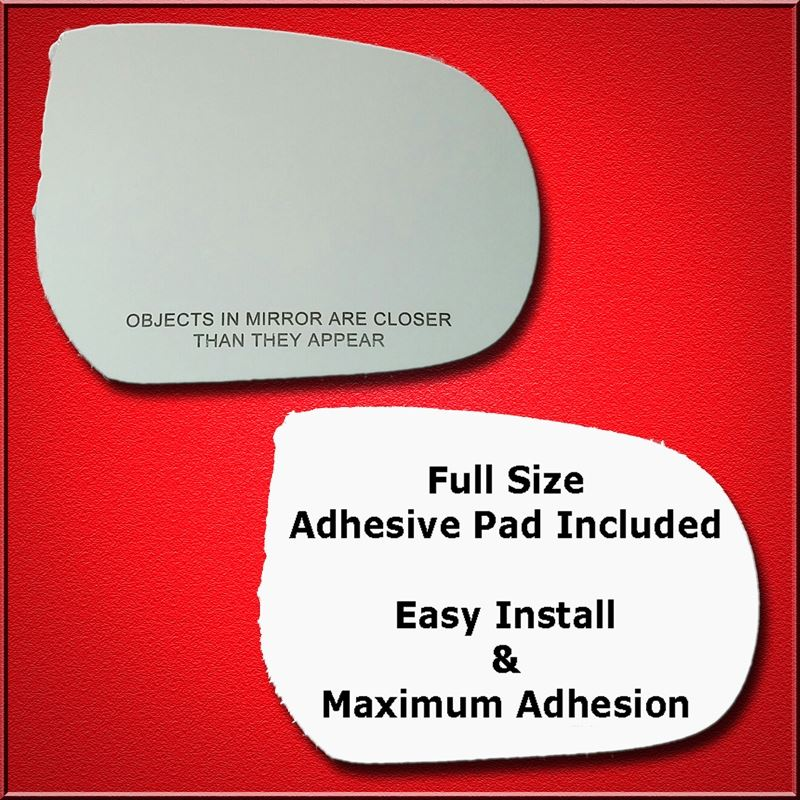 Mirror Glass Replacement + Full Adhesive for Escap