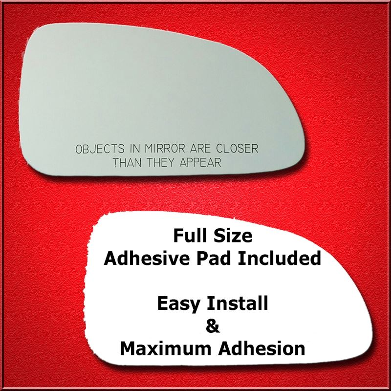Mirror Glass Replacement + Full Adhesive for Hyund