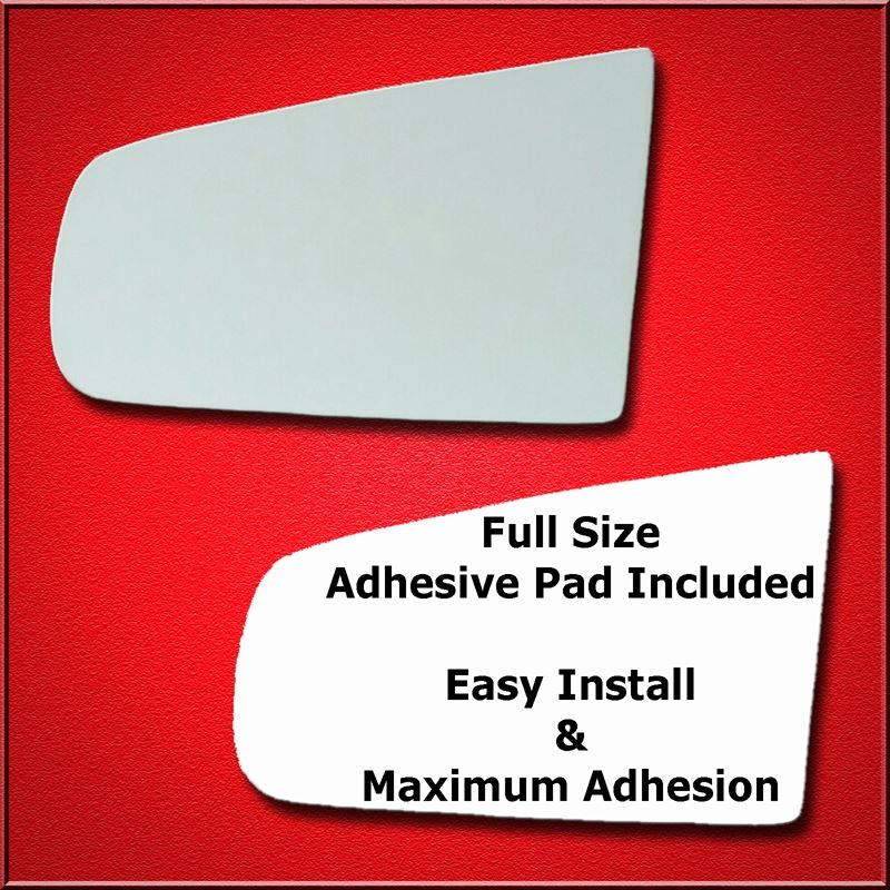 Mirror Glass Replacement + Full Adhesive for Devil