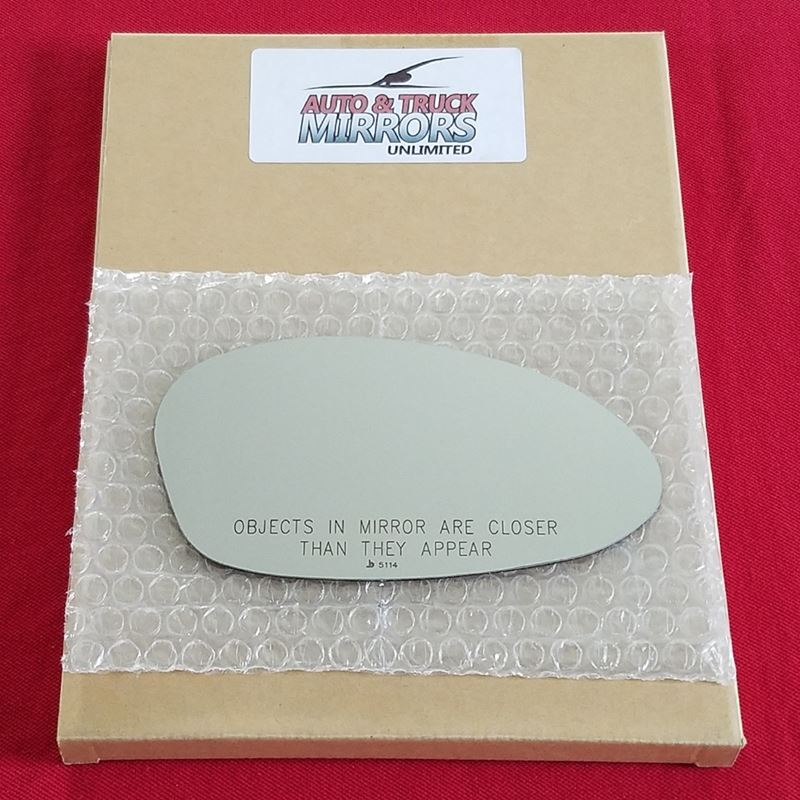 Mirror Glass + Adhesive for 03-08 BMW Z4 Passenger