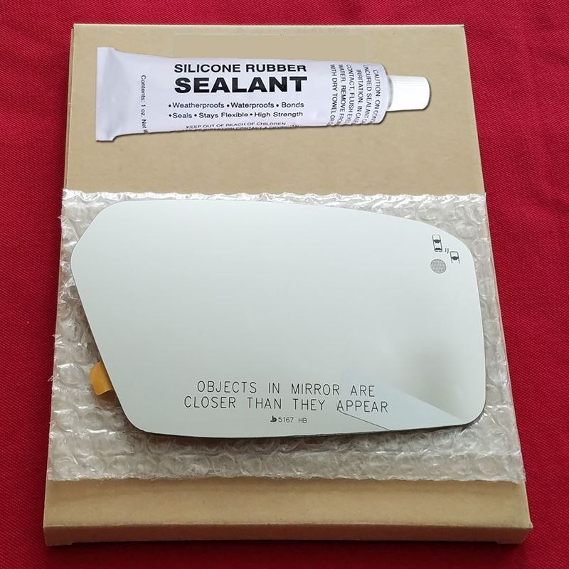 Mirror Glass + Silicone Adhesive for Milan, MKZ, F