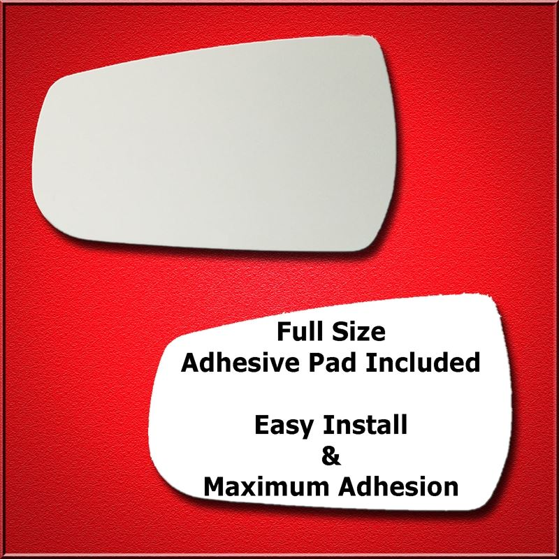 Mirror Glass Replacement + Full Adhesive for 13-15