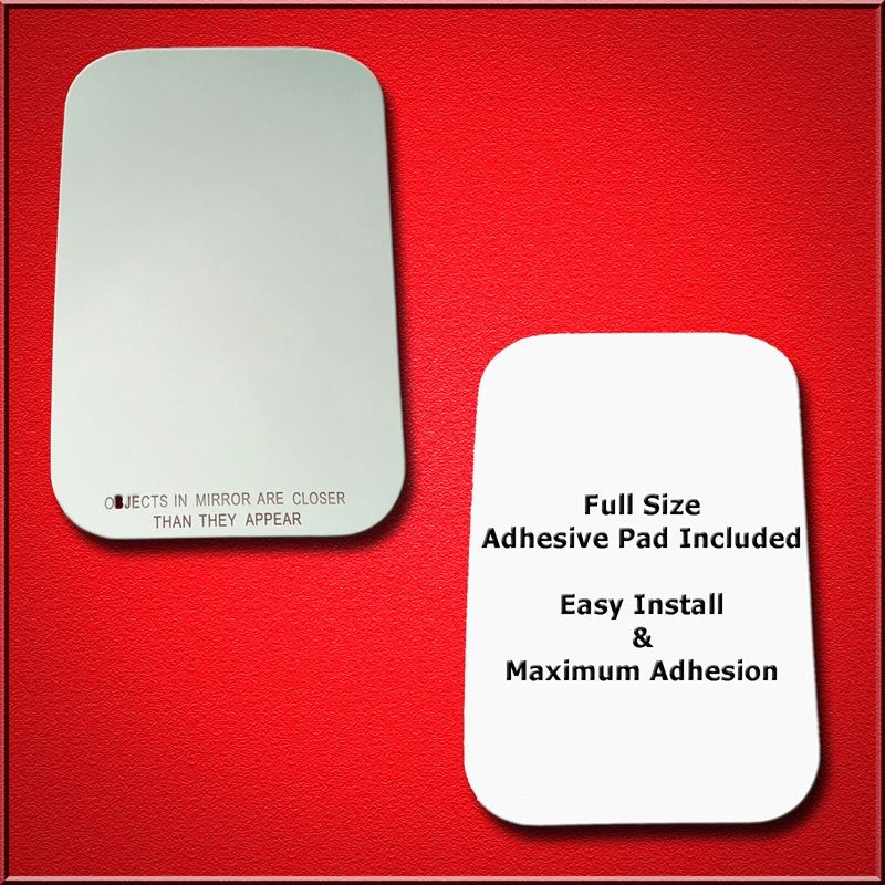 Mirror Glass Replacement + Full Adhesive for 94-03