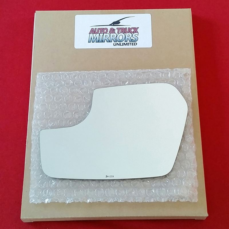 Mirror Glass + ADHESIVE for 11-12 Ford Fusion, 11
