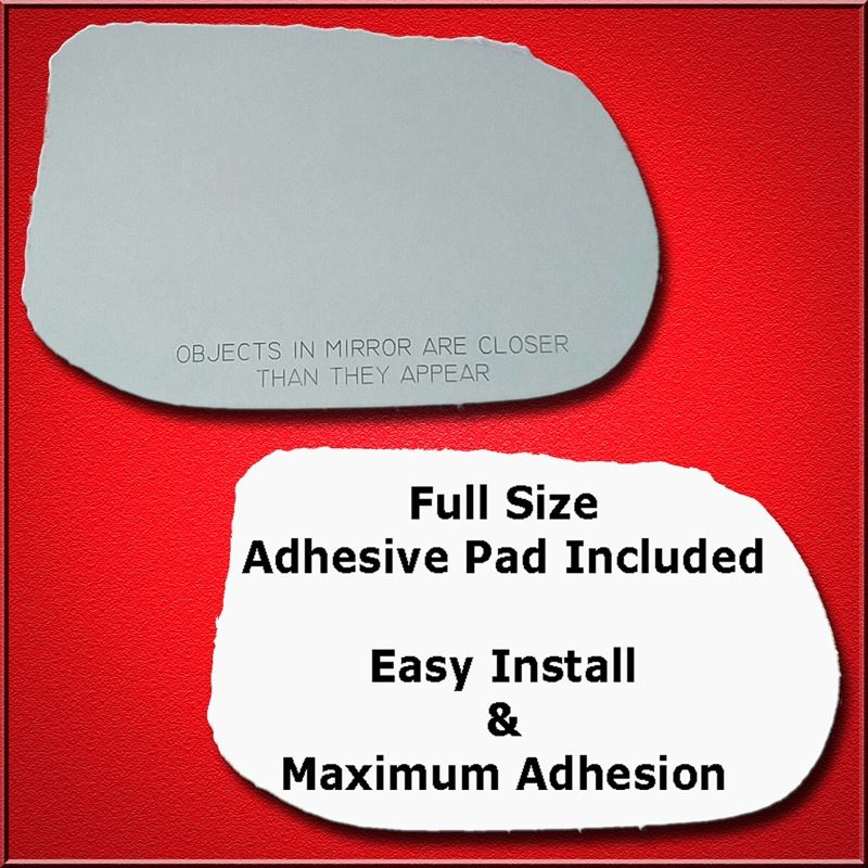 Mirror Glass Replacement + Full Adhesive for 06-11