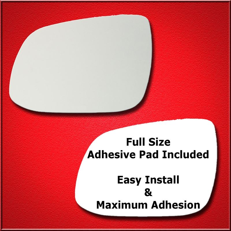 Mirror Glass Replacement + Full Adhesive for 11-13