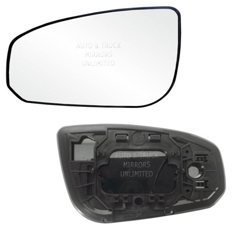 Fits 04-08 Maxima Driver Side Mirror Glass with Ba