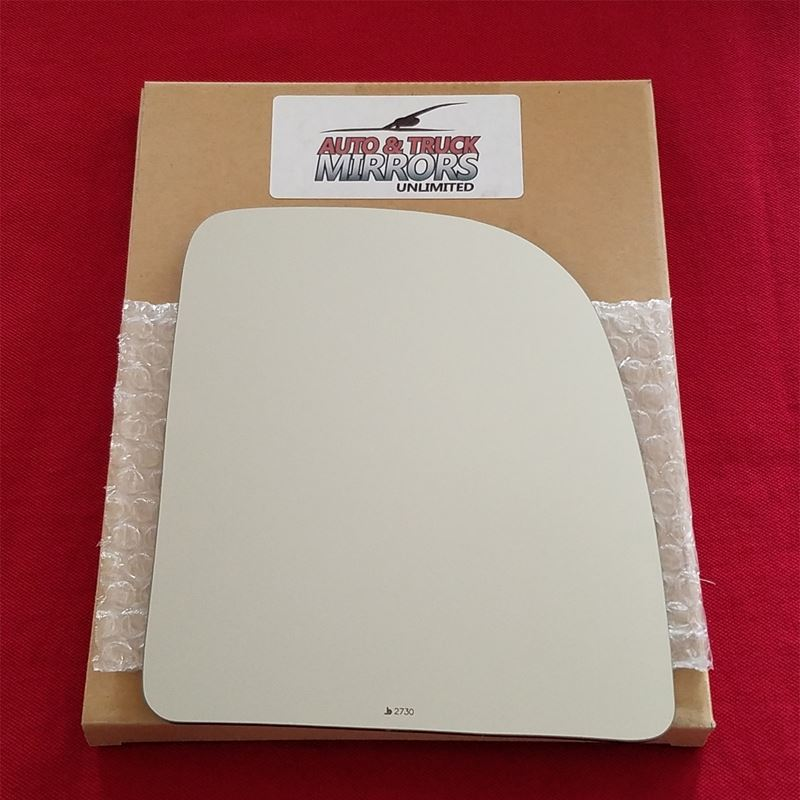 Mirror Glass + ADHESIVE for Ford F-250, F-350, E-2