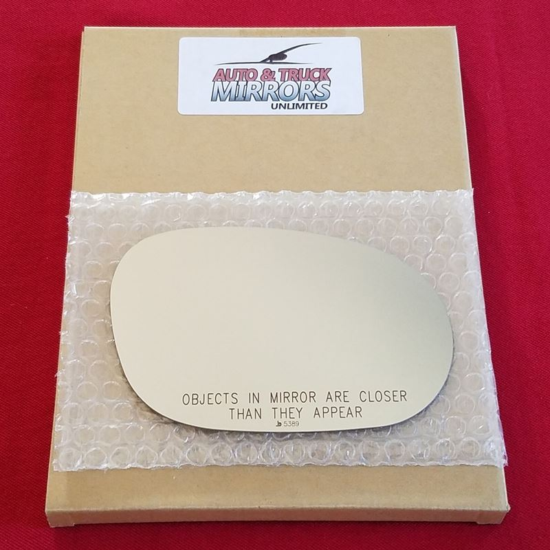Mirror Glass + ADHESIVE for 08-18 Dodge Challenger