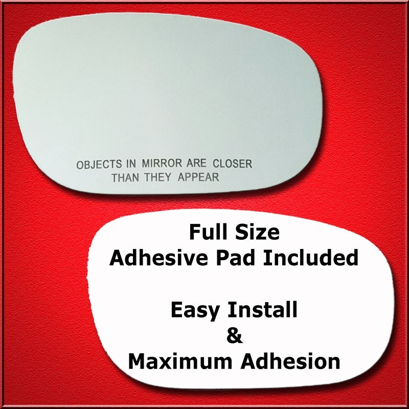 Mirror Glass Replacement + Full Adhesive for 300,C