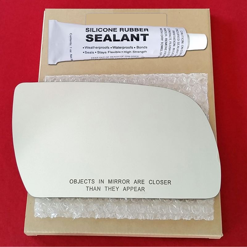 Mirror Glass Replacement + Silicone Adhesive for A