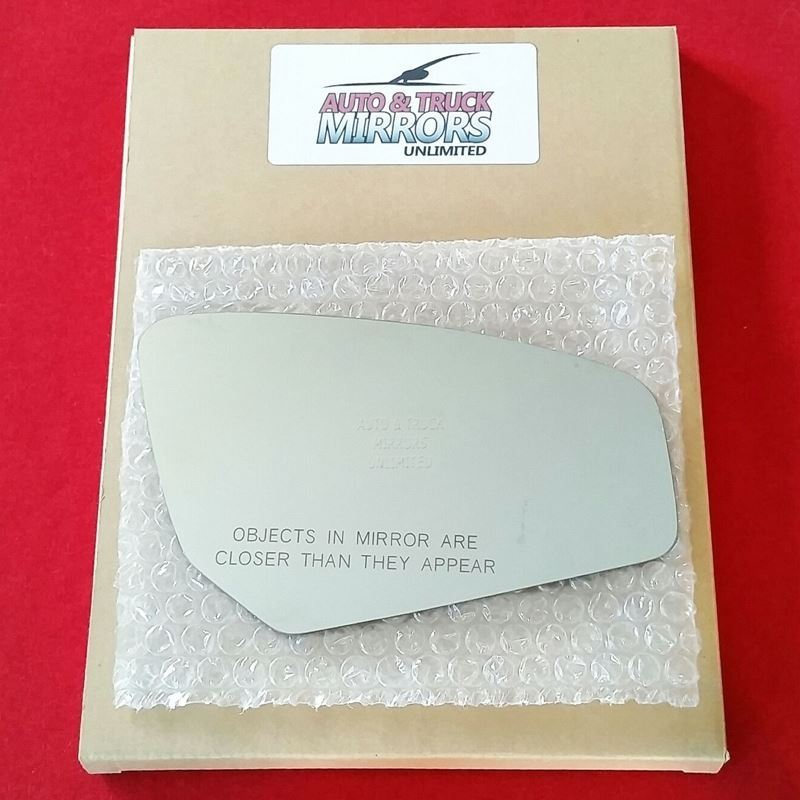 Fits 07-12 Sentra Passenger Side Mirror Glass and