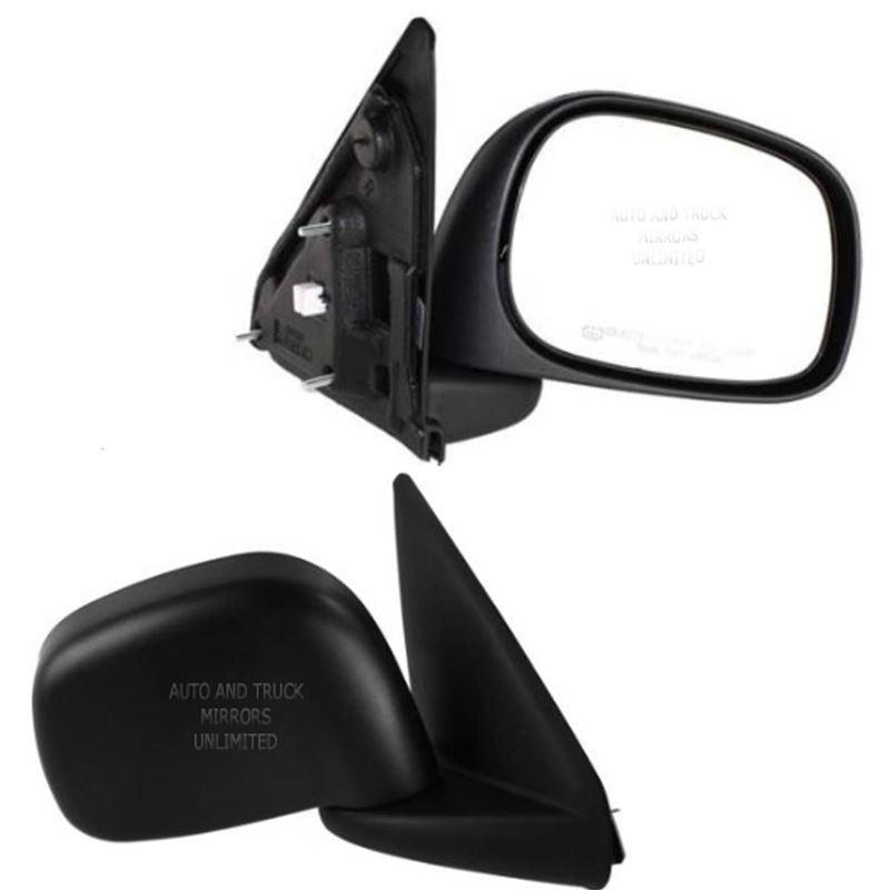 Fits 02-09 Dodge Pickup Passenger Side Mirror Asse