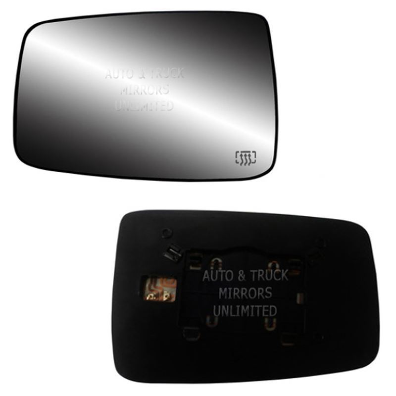 Fits 09-16 Dodge 1500 Driver Side Mirror Glass wit