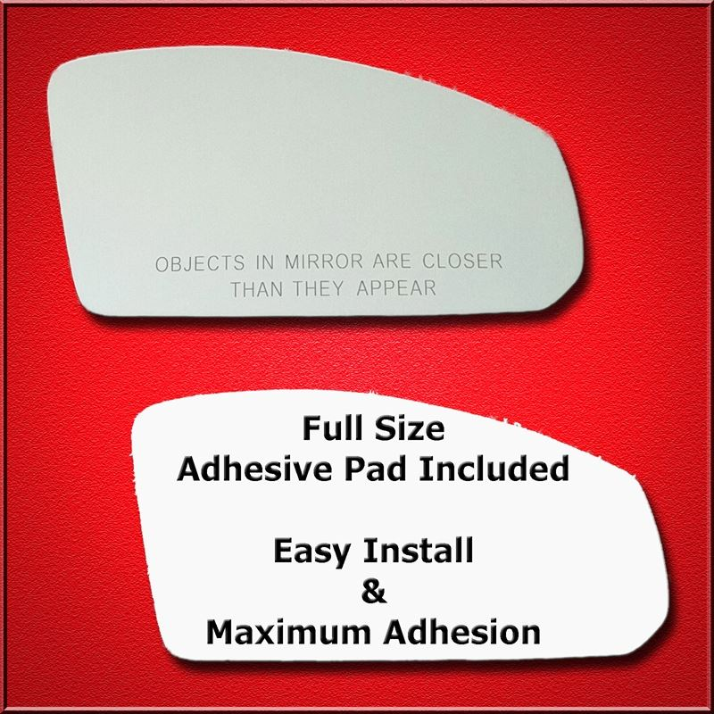 Mirror Glass Replacement + Full Adhesive for 03-07