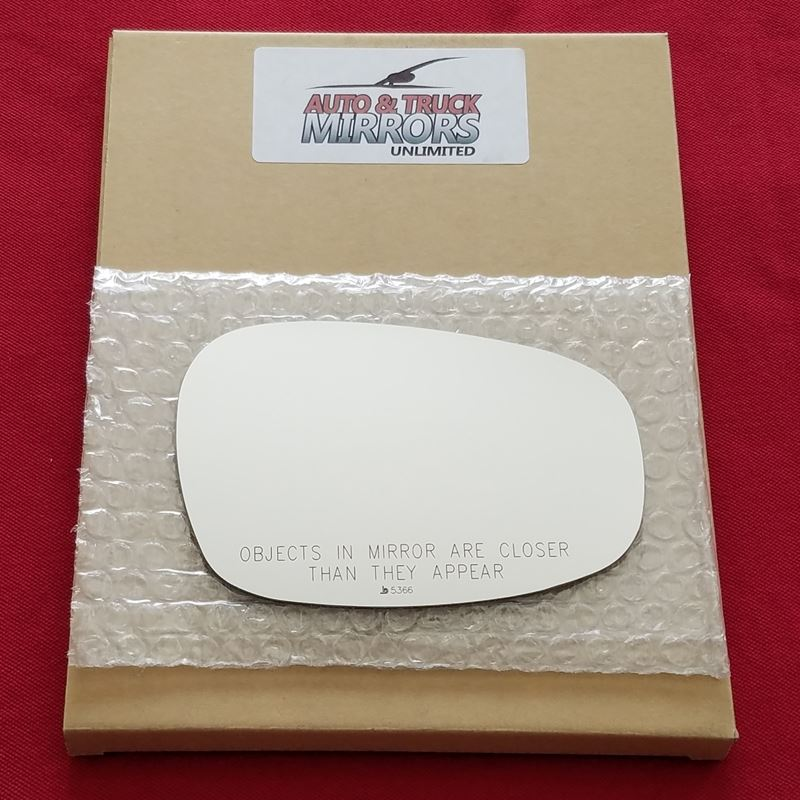 Mirror Glass + Adhesive for 09-13 BMW 3 Series Pas