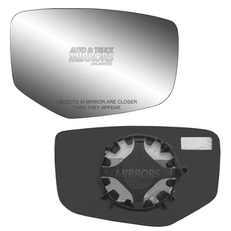 Fits 13-16 Honda Accord Passenger Side Mirror Glas