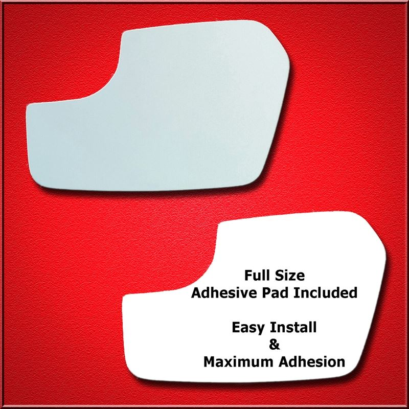 Mirror Glass Replacement + Full Adhesive for 11-12