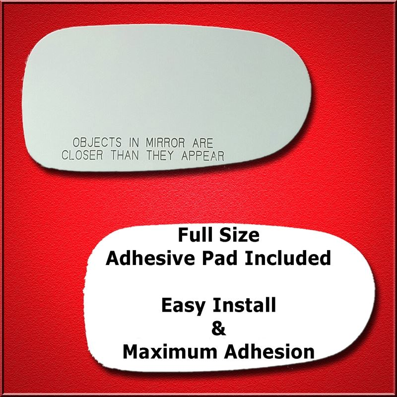 Mirror Glass Replacement + Full Adhesive for 93-97