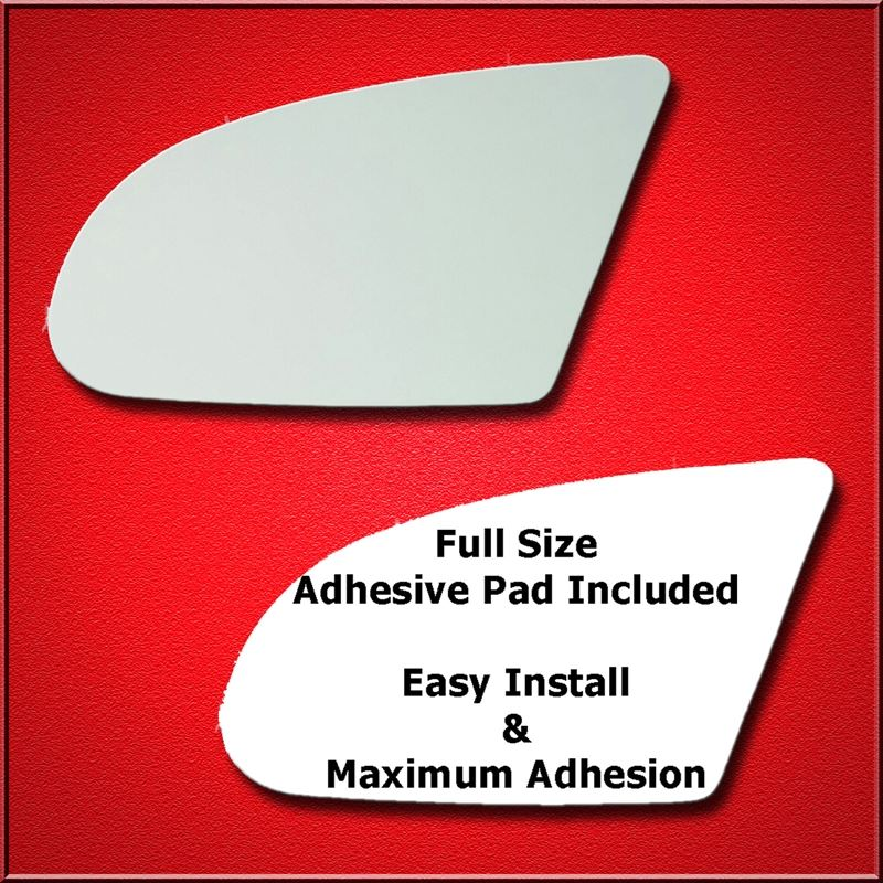 Mirror Glass Replacement + Full Adhesive for 92-95