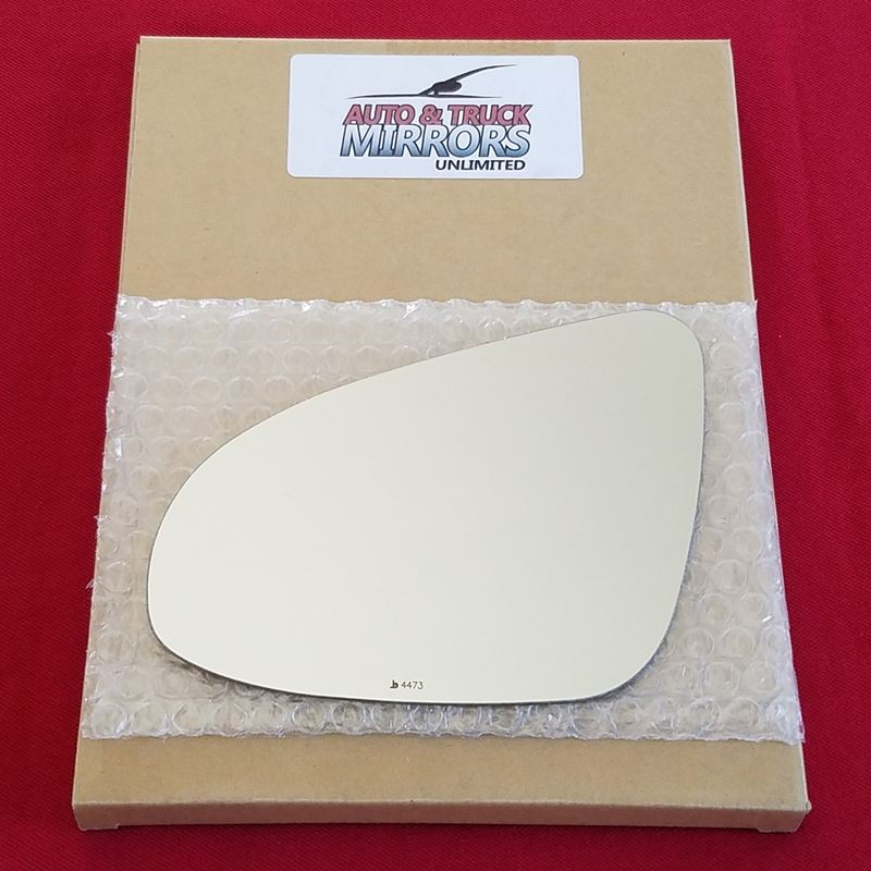 Mirror Glass + ADHESIVE for 12-14 Toyota Yaris Dri