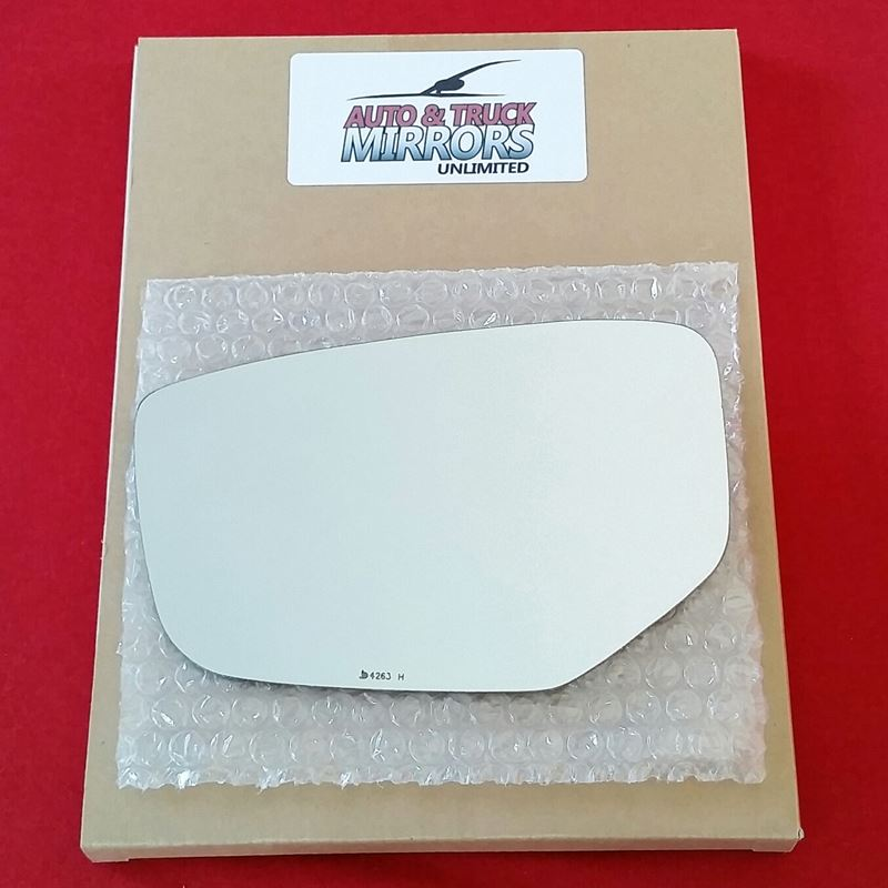 Mirror Glass + ADHESIVE for 08-12 Honda Accord Dri
