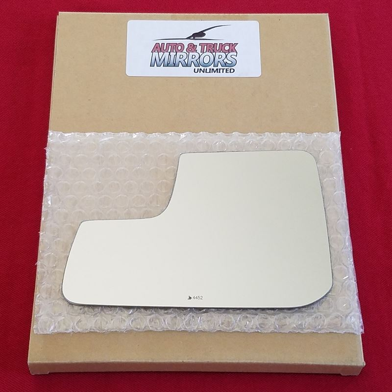 Mirror Glass + ADHESIVE for 11-14 Ford Edge Driver