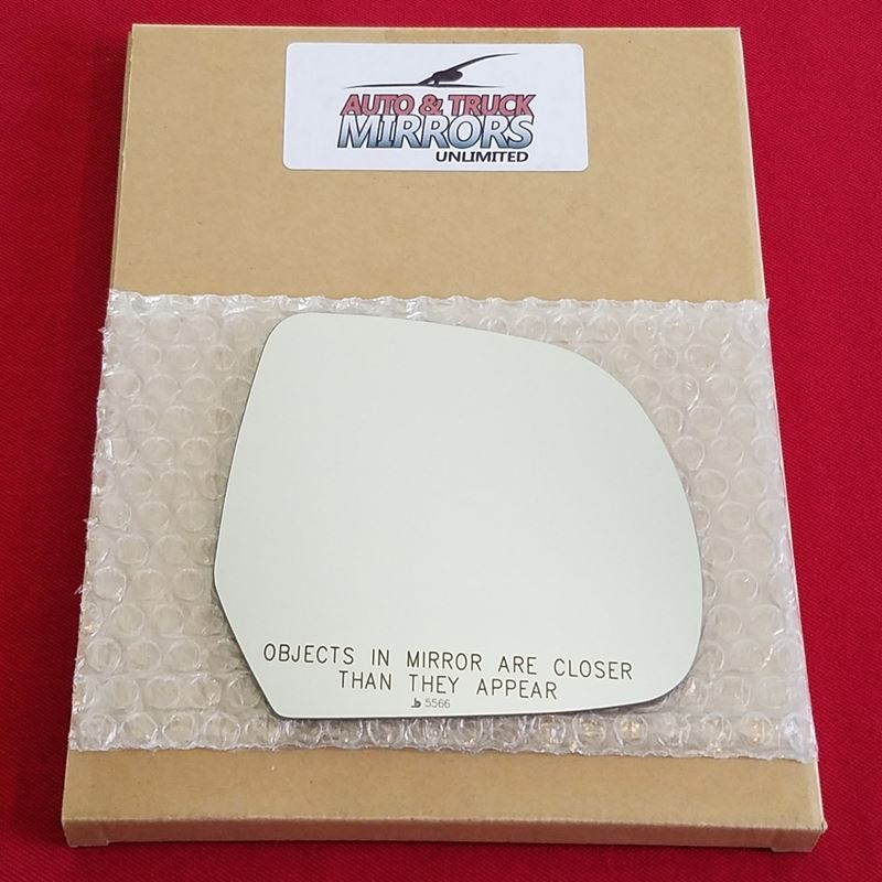 Mirror Glass + ADHESIVE for 11-17 Nissan Leaf Pass