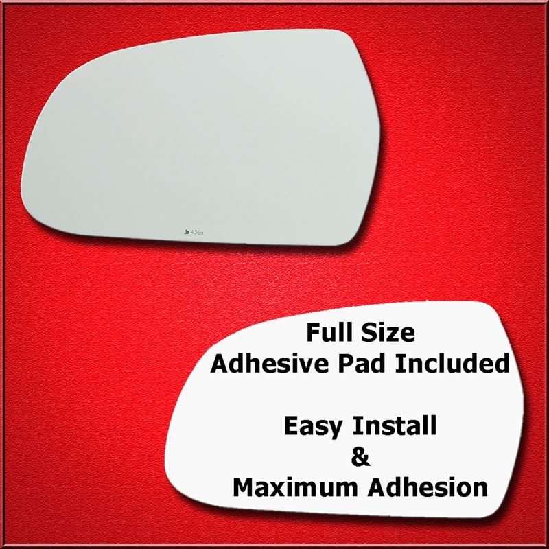 Mirror Glass Replacement + Full Adhesive for A3, A