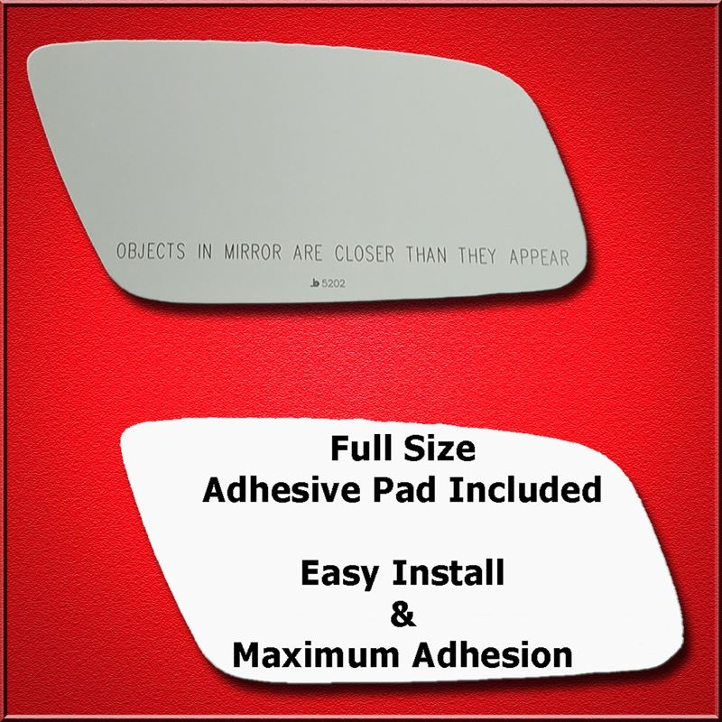 Mirror Glass Replacement + Full Adhesive for A4, A