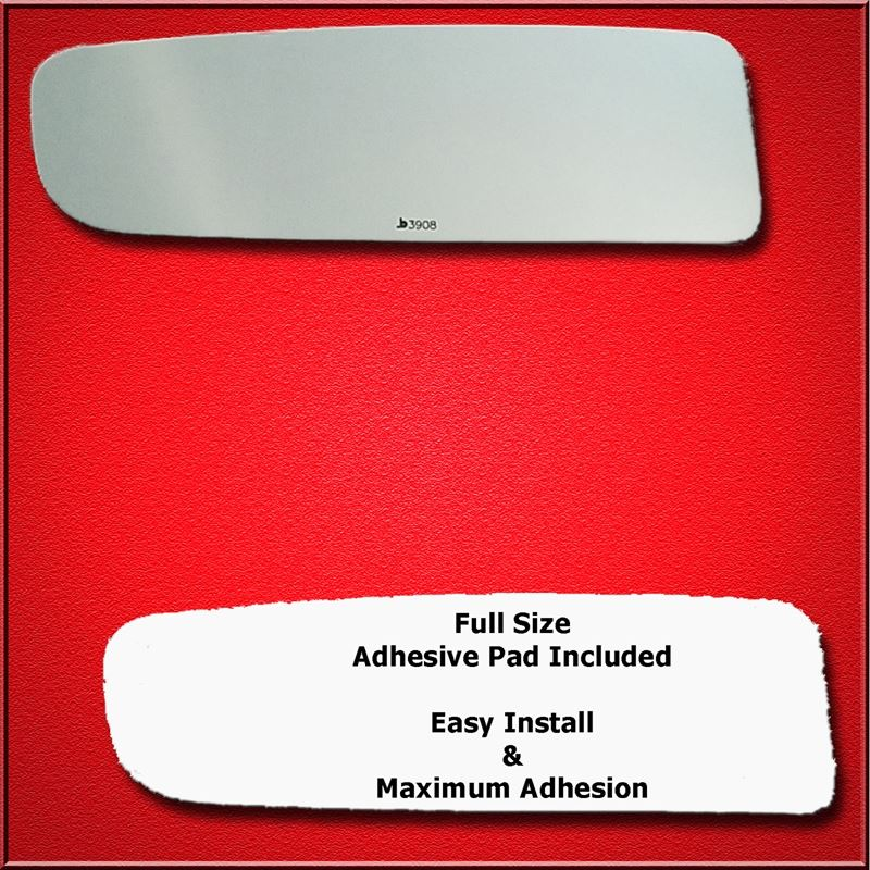 Mirror Glass Replacement + Full Adhesive for 04-14