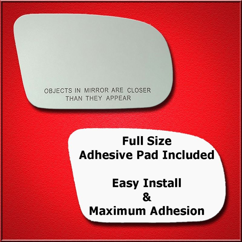 Mirror Glass Replacement + Full Adhesive for Grand