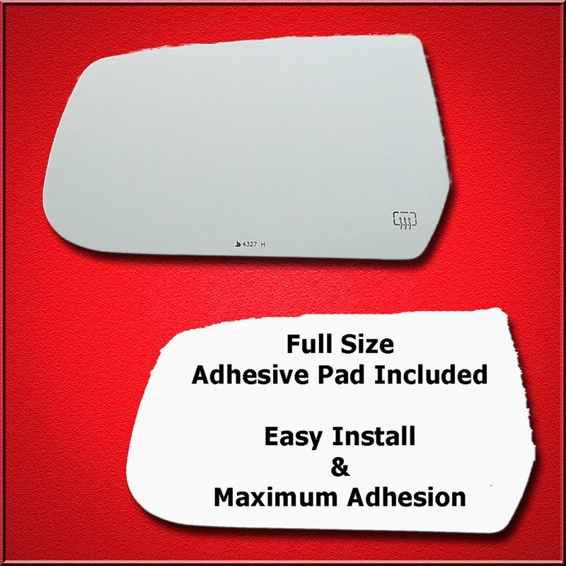 Mirror Glass + Full Adhesive for 10-17 Equinox,Ter