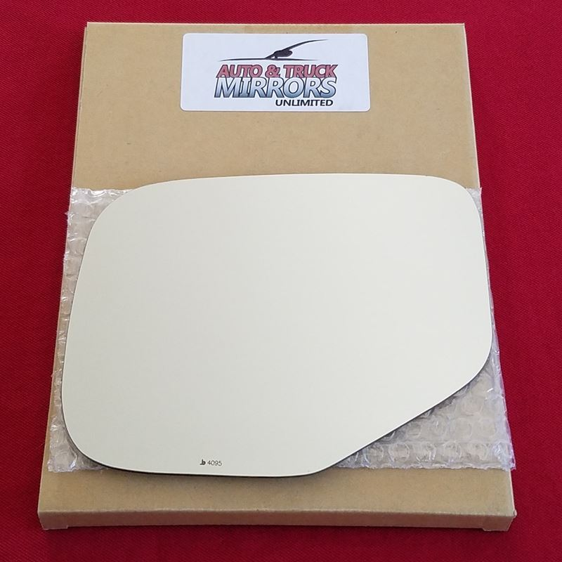 Mirror Glass + ADHESIVE for 06-14 Honda Ridgeline