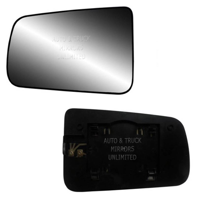 Fits 08-11 Ford Focus Driver Side Mirror Glass wit