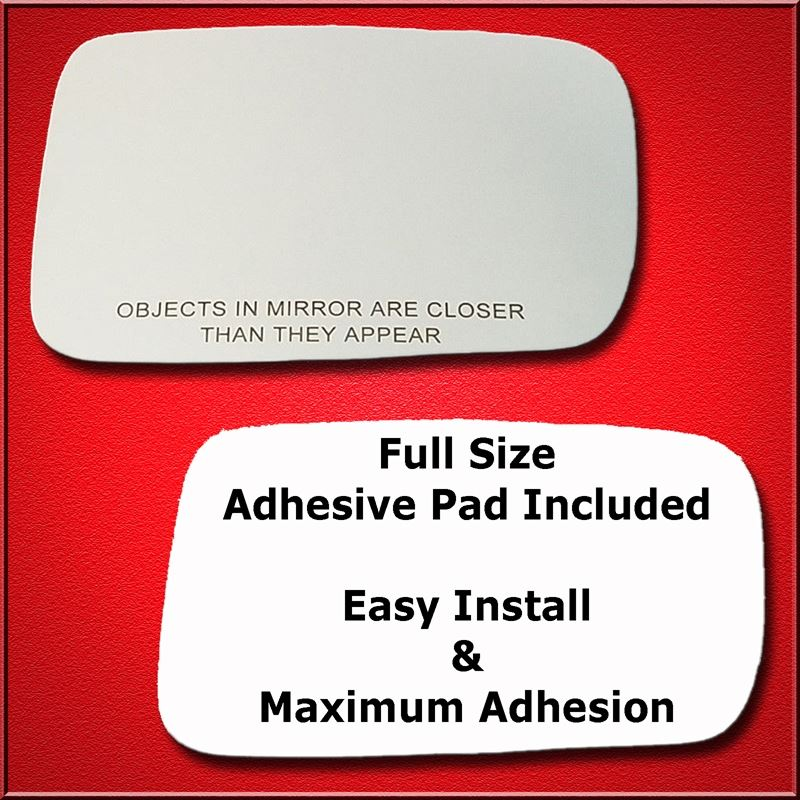 Mirror Glass Replacement + Full Adhesive for 02-08