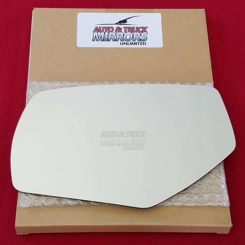 Mirror Glass + ADHESIVE for Silverado, Sierra Driv