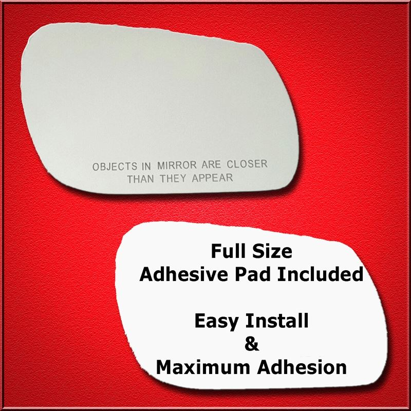 Mirror Glass Replacement + Full Adhesive for Mazda