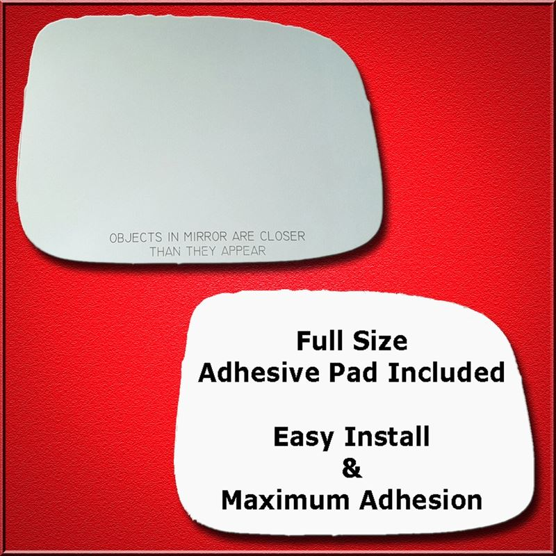 Mirror Glass Replacement + Full Adhesive for Canyo